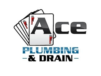 Ace Plumbing & Drain logo design