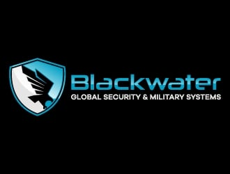 Blackwater Global Security & Military Systems logo design