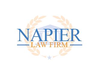 Napier Law Firm logo design by czars