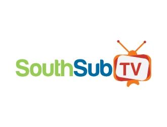 South Sub TV logo design