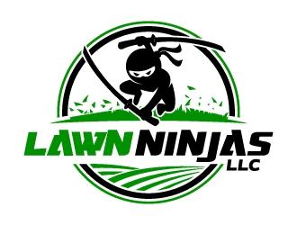 Lawn Ninjas logo design