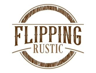Flipping Rustic Logo Design 48hourslogo Com