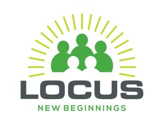 Locus logo design