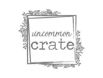 Uncommon crate logo design
