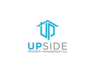 Upside Property Management Co. logo design