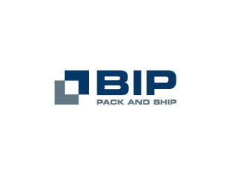 BIP Shipping logo design