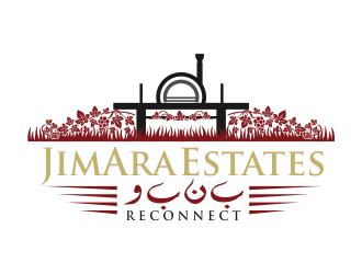 JimAra Estates WBNB logo design