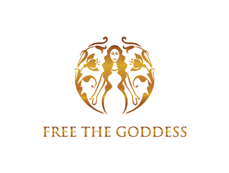 Free The Goddess logo design