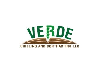 Verde Drilling and Contracting LLC logo design