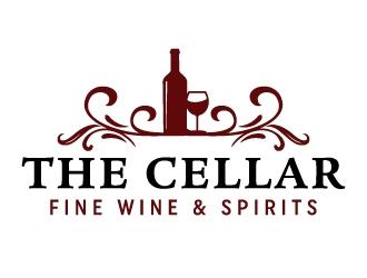 The Cellar  fine wine&spirits  logo design by akilis13