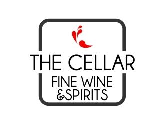 The Cellar  fine wine&spirits  logo design by mckris