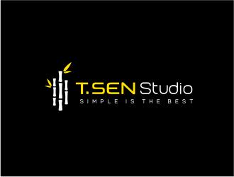 T.SEN Studio logo design