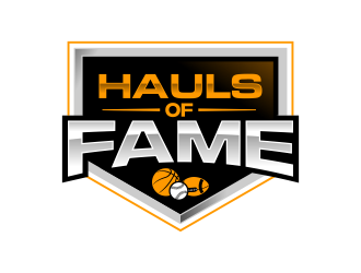Hauls of Fame logo design