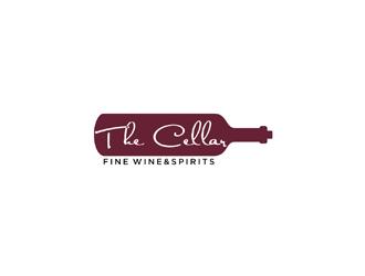 The Cellar  fine wine&spirits  logo design by johana