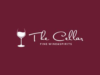 The Cellar  fine wine&spirits  logo design by kaylee