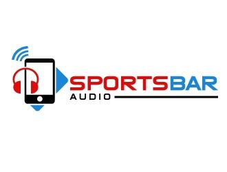 Sports Bar Audio logo design