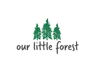 Our Little Forest logo design