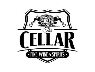 The Cellar  fine wine&spirits  logo design by daywalker