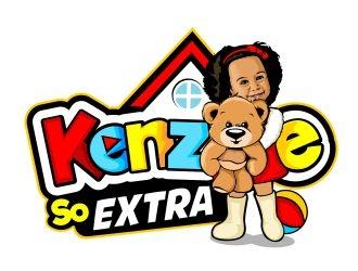 Kenzie So Extra logo design