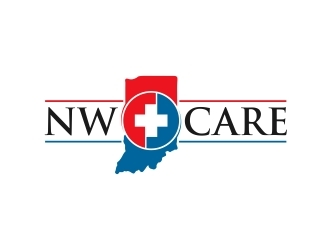 NW Care logo design