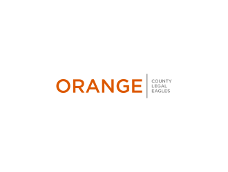 Orange County Legal Eagles logo design by L E V A R