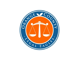 Orange County Legal Eagles logo design by neonlamp