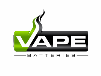 Vape Batteries logo design