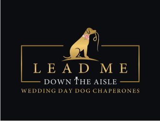 Lead Me Down the Aisle logo design