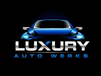 Luxury Auto Werks logo design