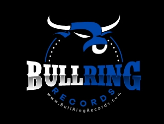 Bull Ring Records logo design