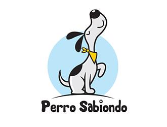 Perro Sabiondo logo design