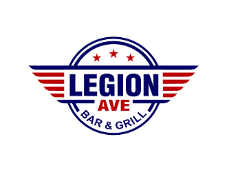 Legion Ave Bar & Grill logo design