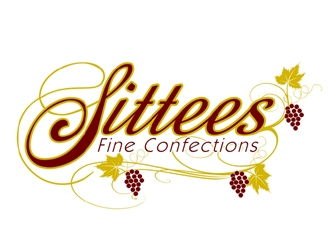 Sittees Fine Confections logo design