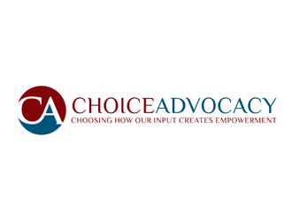 Choice Advocacy logo design by bomie