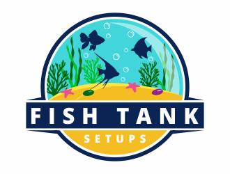 Fish Tank Setups  logo design