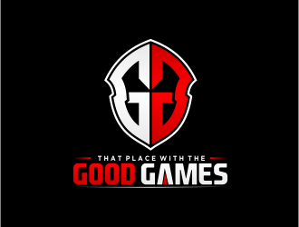 That Place With The Good Games logo design