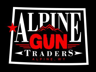 Alpine Gun Traders, AGT acronym logo design