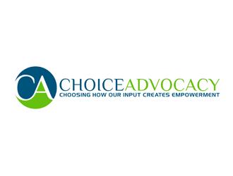 Choice Advocacy logo design