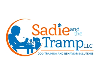 Sadie and the Tramp LLC, dog training and behavior solutions  logo design