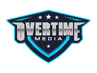 Overtime Media logo design