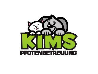 Kims Pfotenbetreuung logo design
