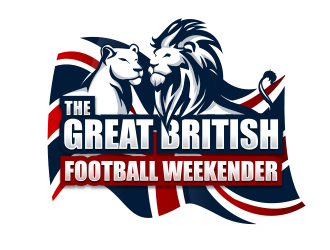 The Great British Football Weekender logo design