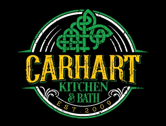 Carhart Kitchen & Bath logo design