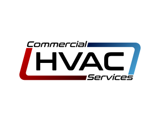 Commercial HVAC Services logo design