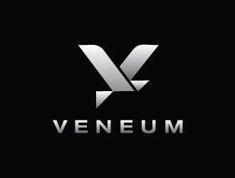 Veneum logo design