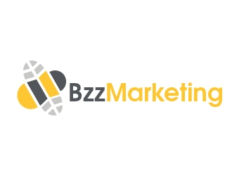 Bzz Marketing  logo design