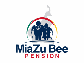 MiaZu Bee Pension logo design