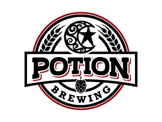 Potion Brewing logo design