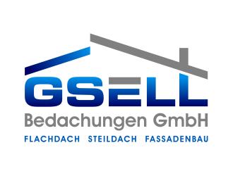 GSELL Bedachungen GmbH logo design