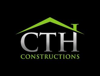 CTH CONSTRUCTIONS logo design